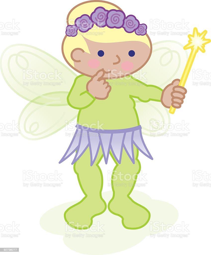 Fairy Costume vector art illustration