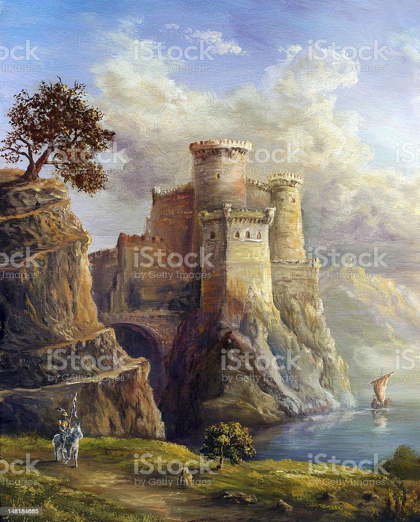 Fairy kingdom royalty-free stock vector art