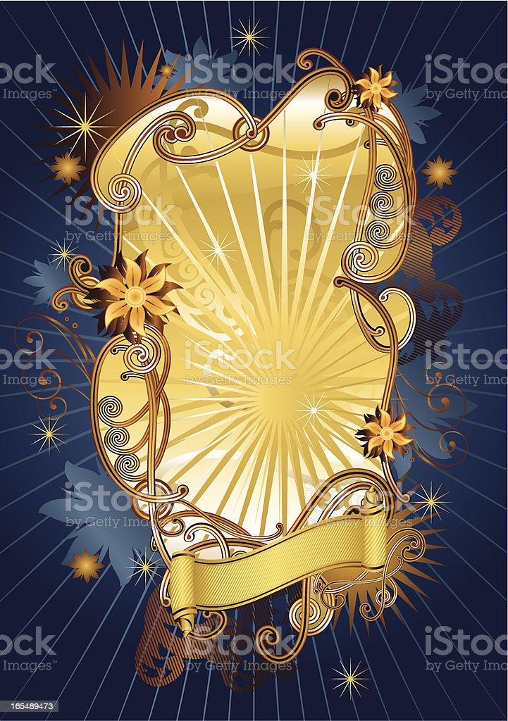 Fairy retro royalty-free stock vector art