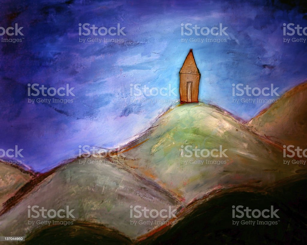 Fairytale home royalty-free stock vector art