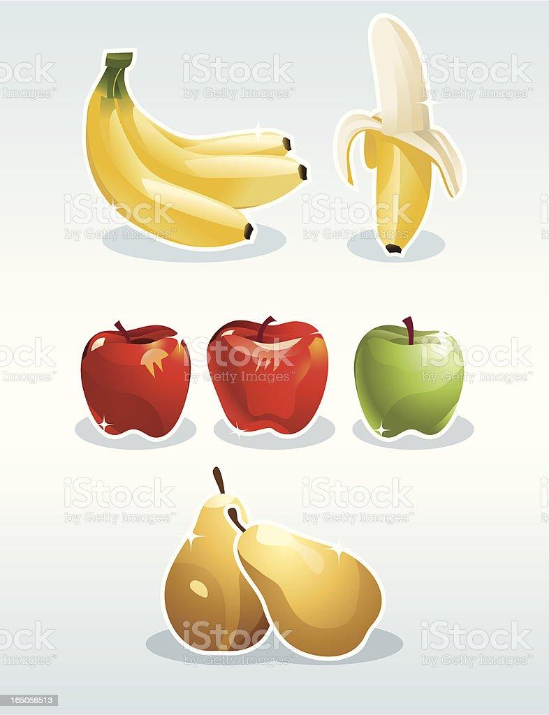 Fantastic fruit royalty-free stock vector art