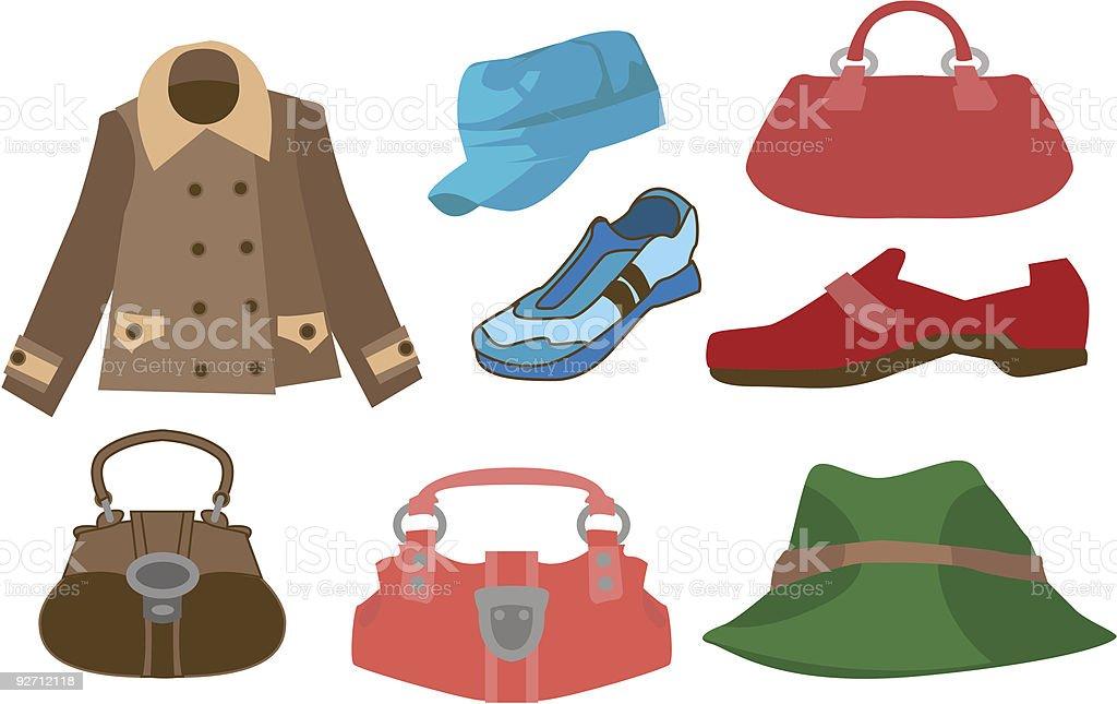 Fashion 3 royalty-free stock vector art