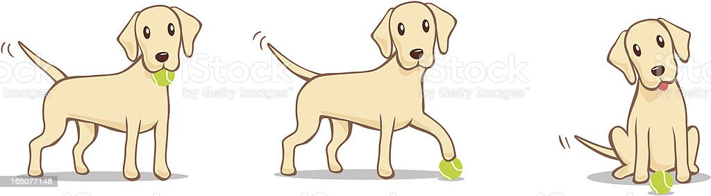 Fetch part 2 royalty-free stock vector art