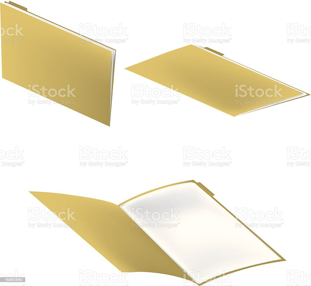 File Folder royalty-free stock vector art