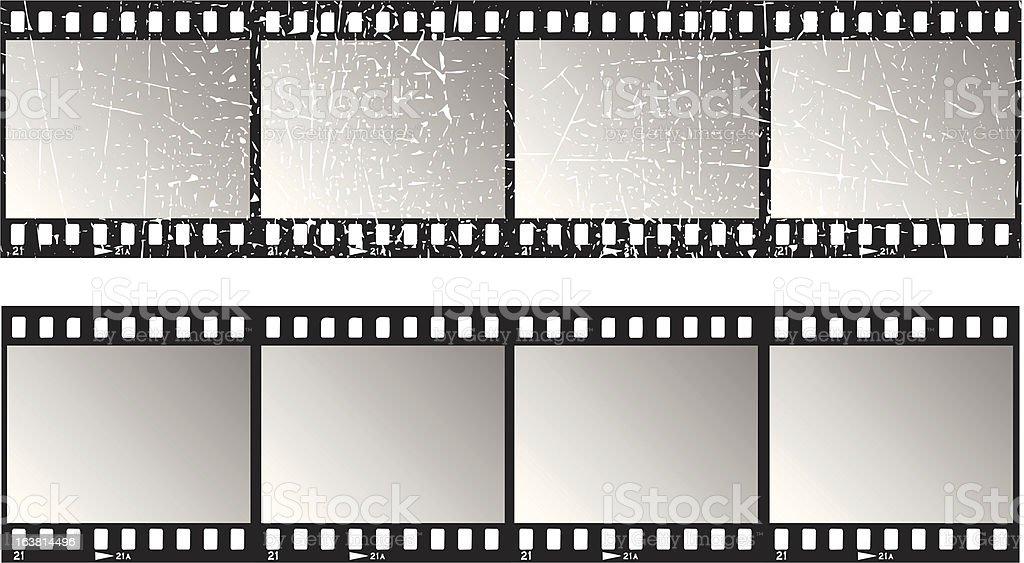 Film strips royalty-free stock vector art