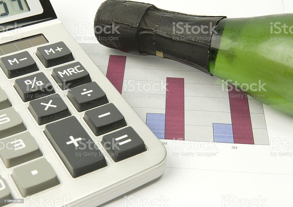 Financial succes royalty-free stock vector art