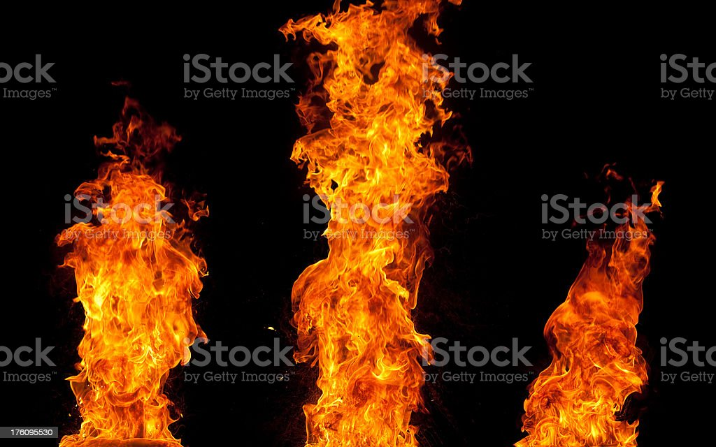 Fire flames royalty-free stock vector art