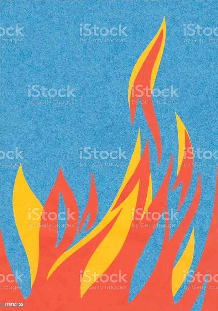 Fire royalty-free stock vector art