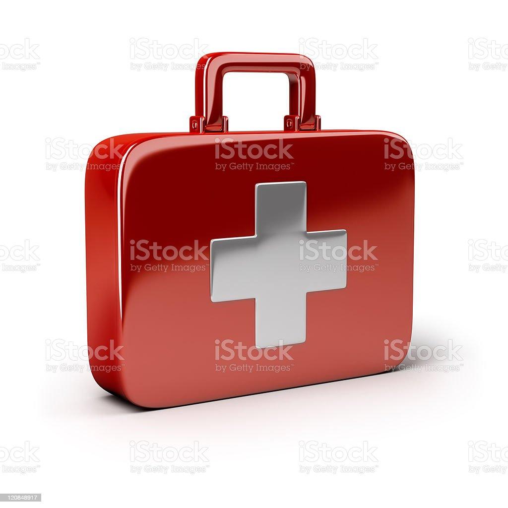 first aid vector art illustration