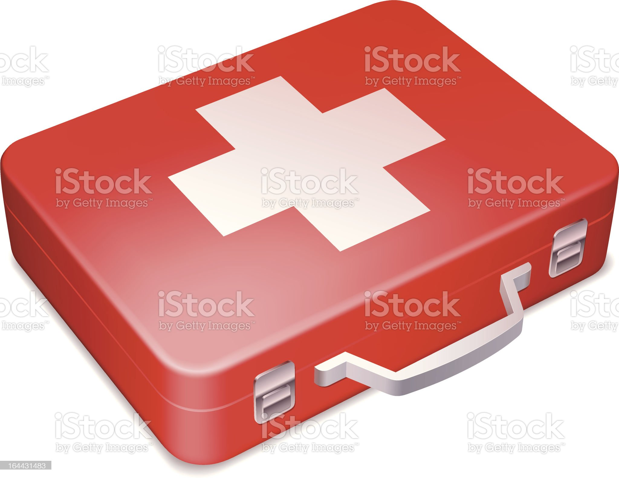 First aid kit. royalty-free stock vector art