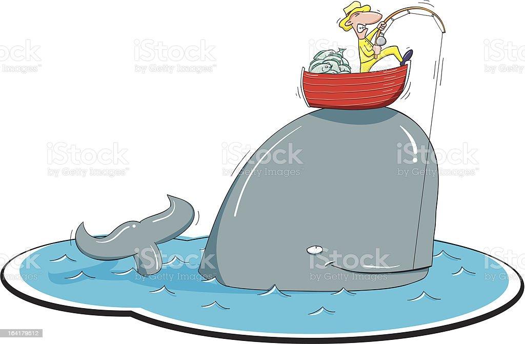 Fish Tale royalty-free stock vector art