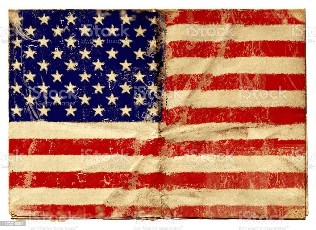 USA flag XXL vector art illustration