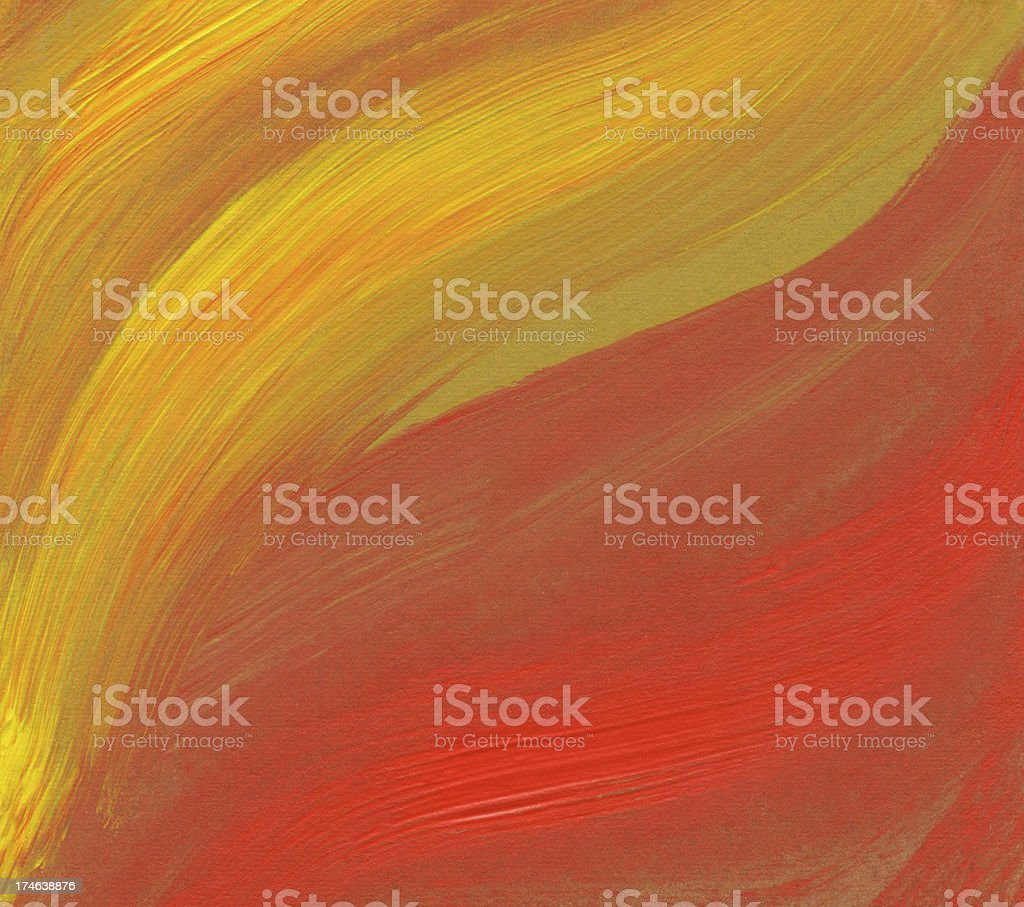 Flame Abstract Background royalty-free stock vector art