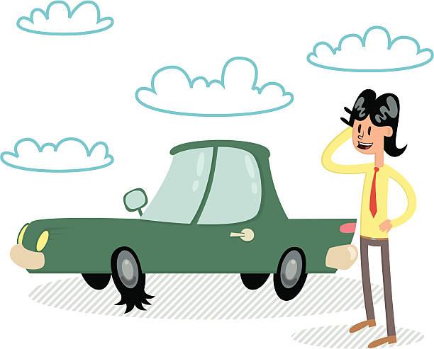 Free Automobiles Clipart - Clip Art Pictures - Graphics ...  Flat Tires Cartoon Hands