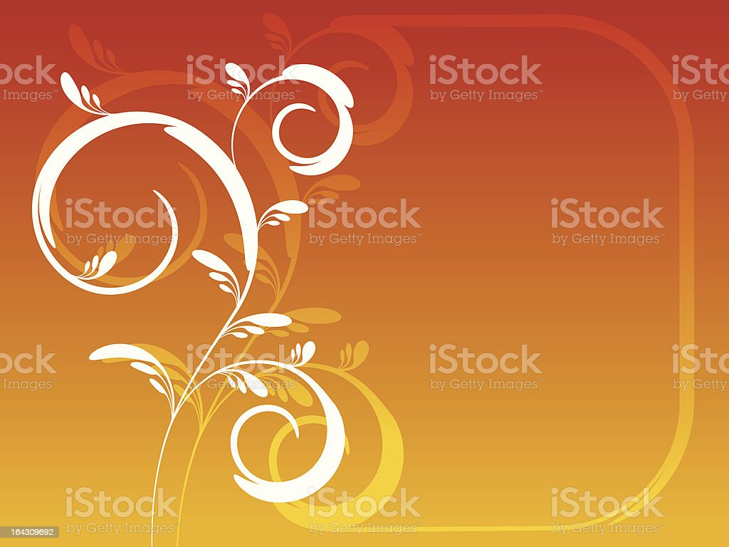 Fond floral stock vecteur libres de droits libre de droits