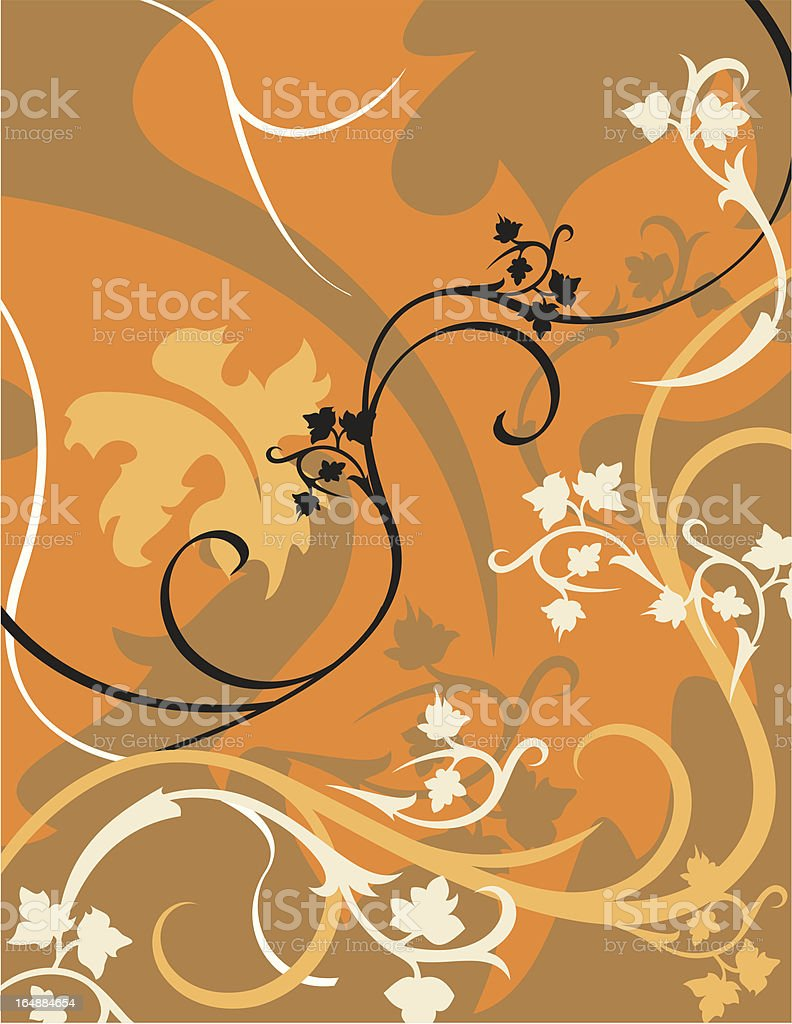 Floral Background Series royalty-free stock vector art