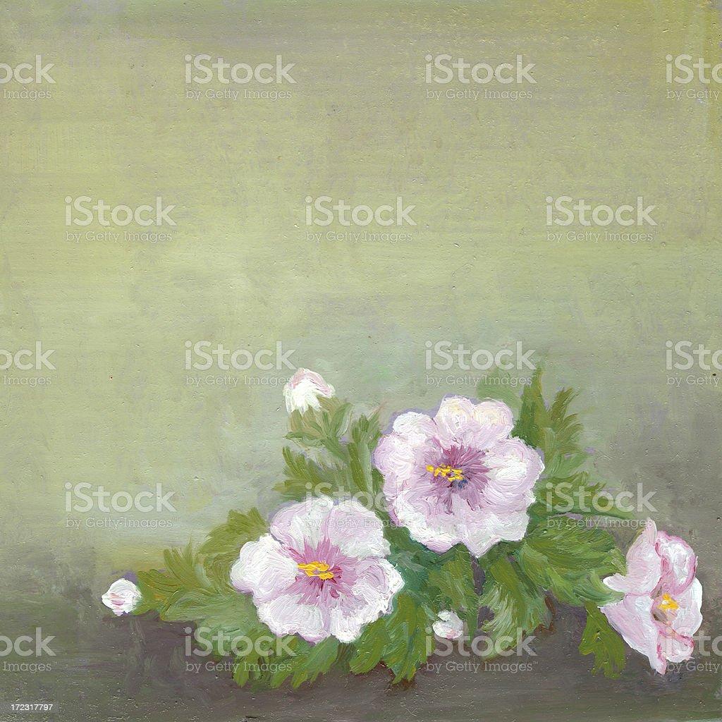 Grenze Blumenmuster Lizenzfreies vektor illustration