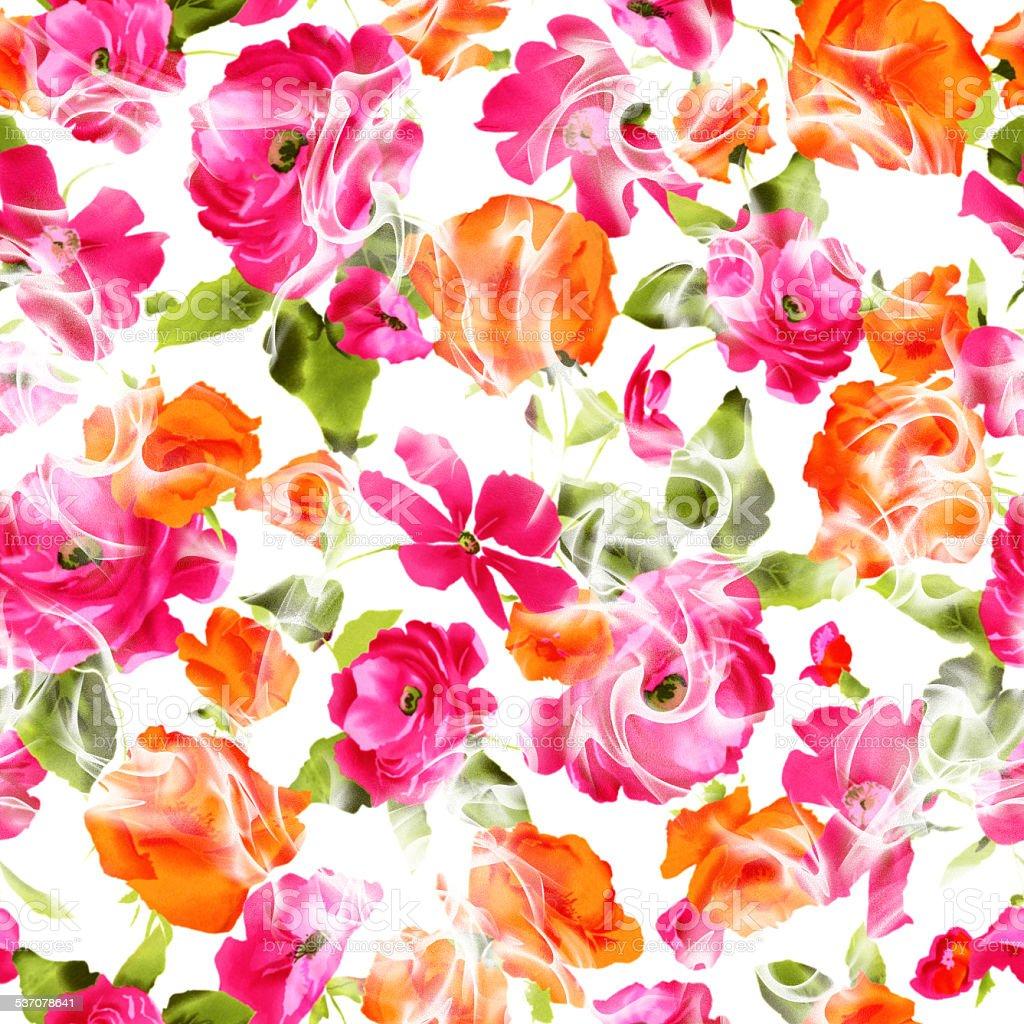 floral design pattern vector art illustration