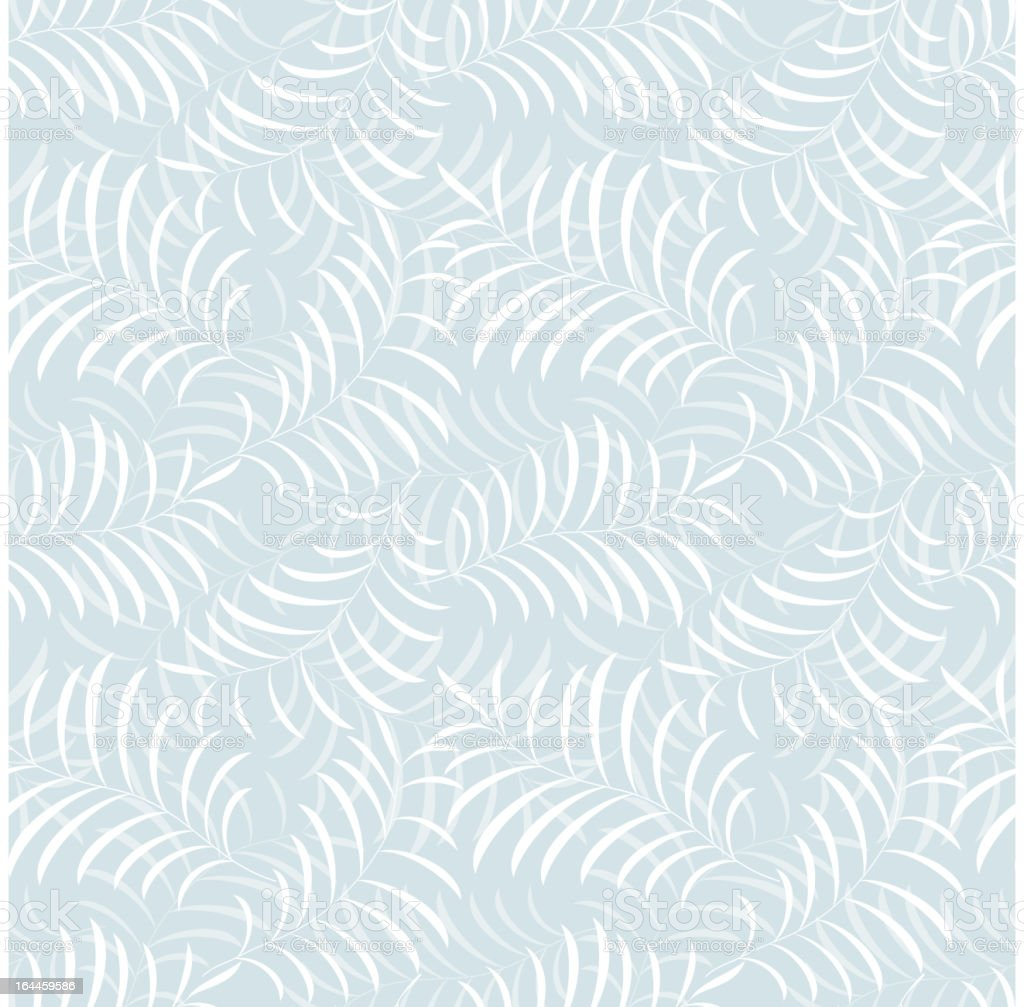 Floral frost seamless pattern royalty-free stock vector art