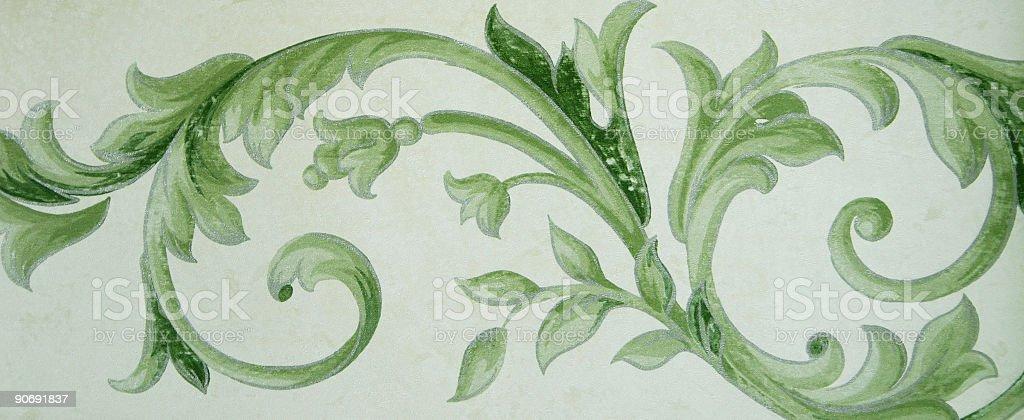 Floral Motif royalty-free stock vector art