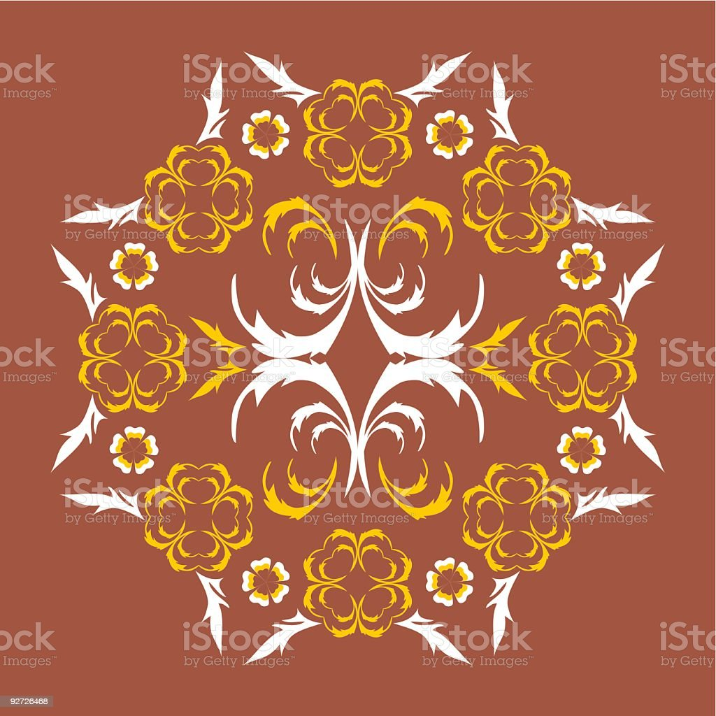 Floral Ornament royalty-free stock vector art