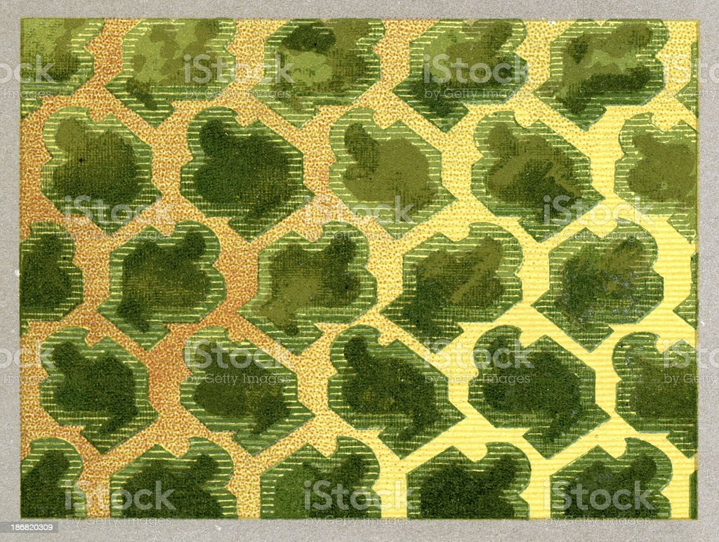 Floral Pattern - 16th Century royalty-free stock vector art