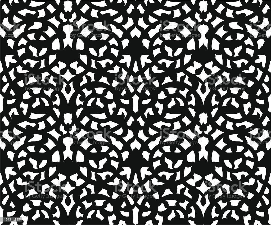 Floral Samless Pattrn royalty-free stock vector art