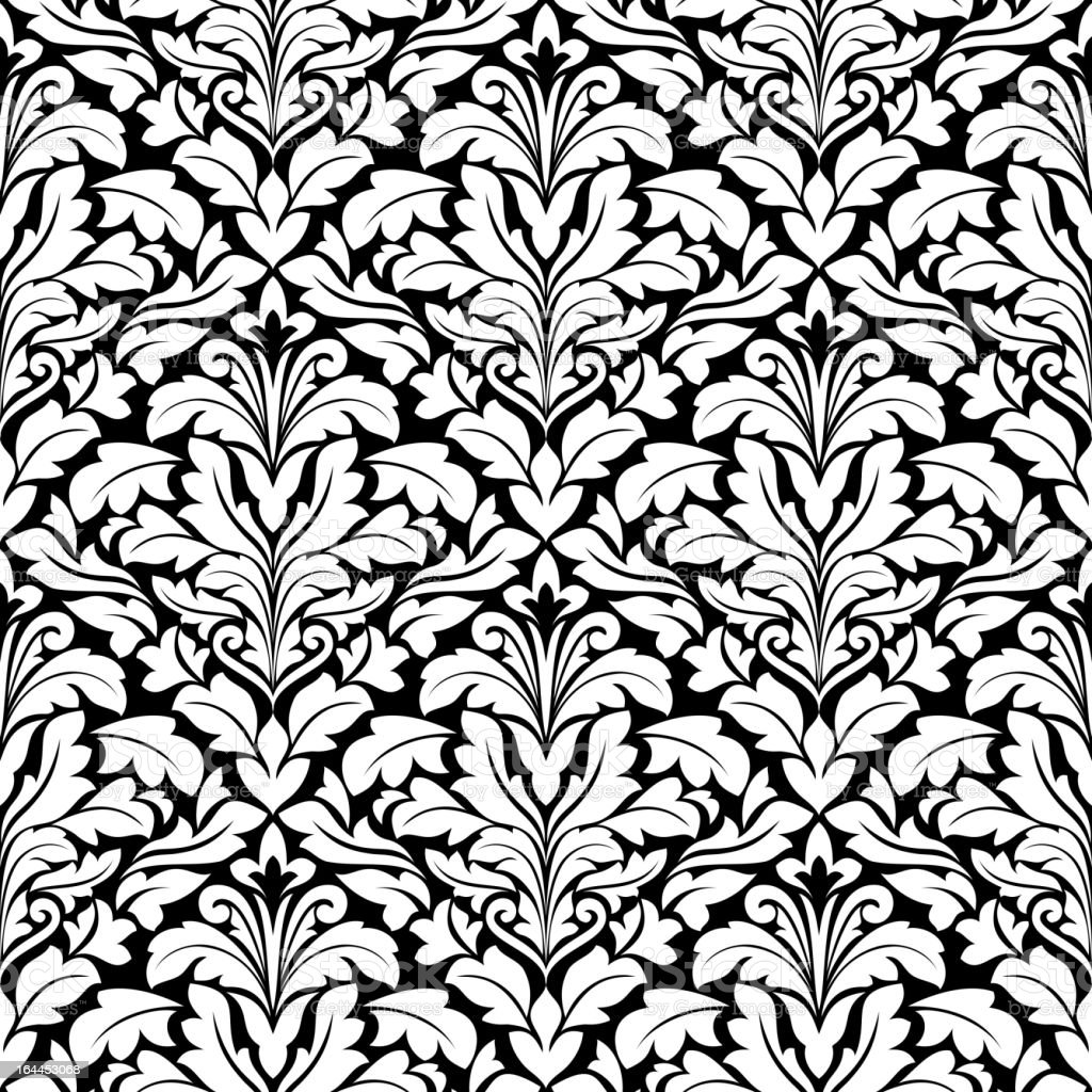 Floral seamless royalty-free stock vector art