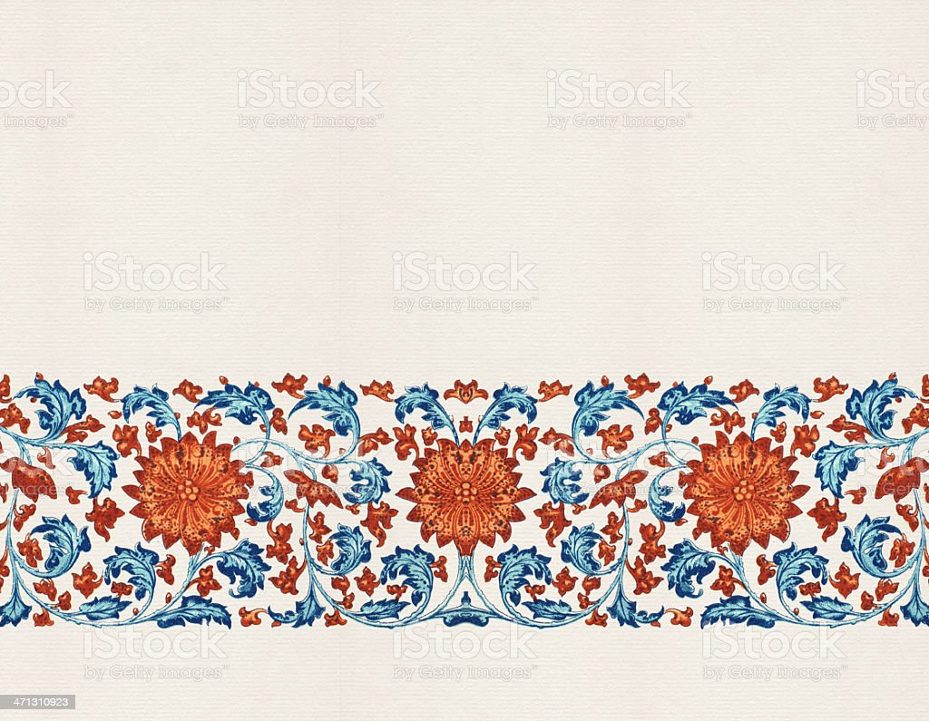 Floral Wallpaper royalty-free stock vector art