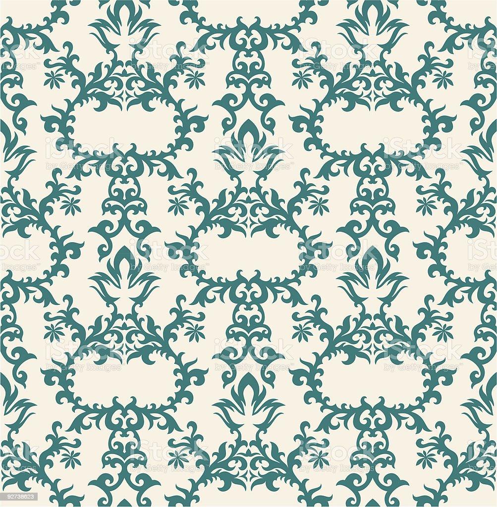 floral wallpaper royalty-free stock vector art