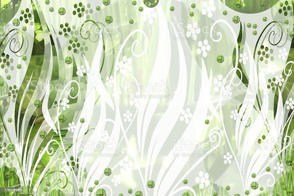 floraler Hintergrund royalty-free stock vector art
