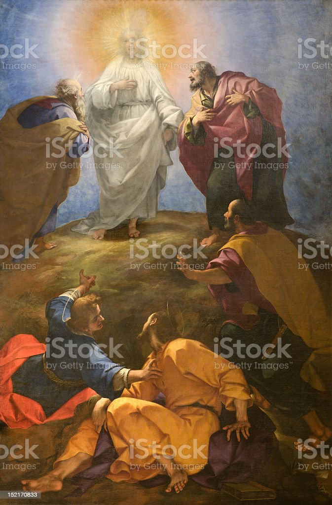 Florence -  Transfiguration of the Lord vector art illustration