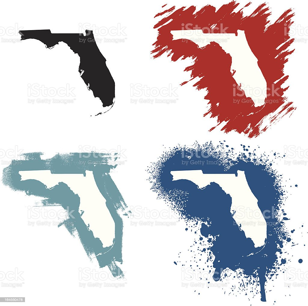 Florida vector art illustration