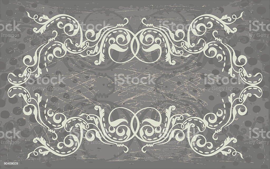 flourish frame royalty-free stock vector art