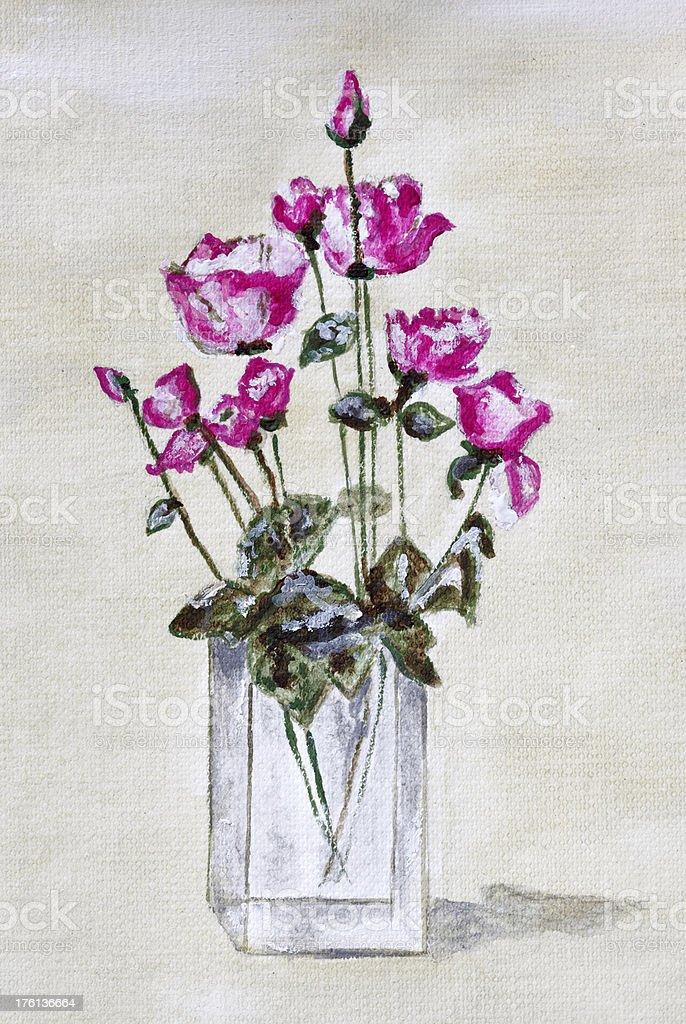 Flower Arrangement royalty-free stock vector art
