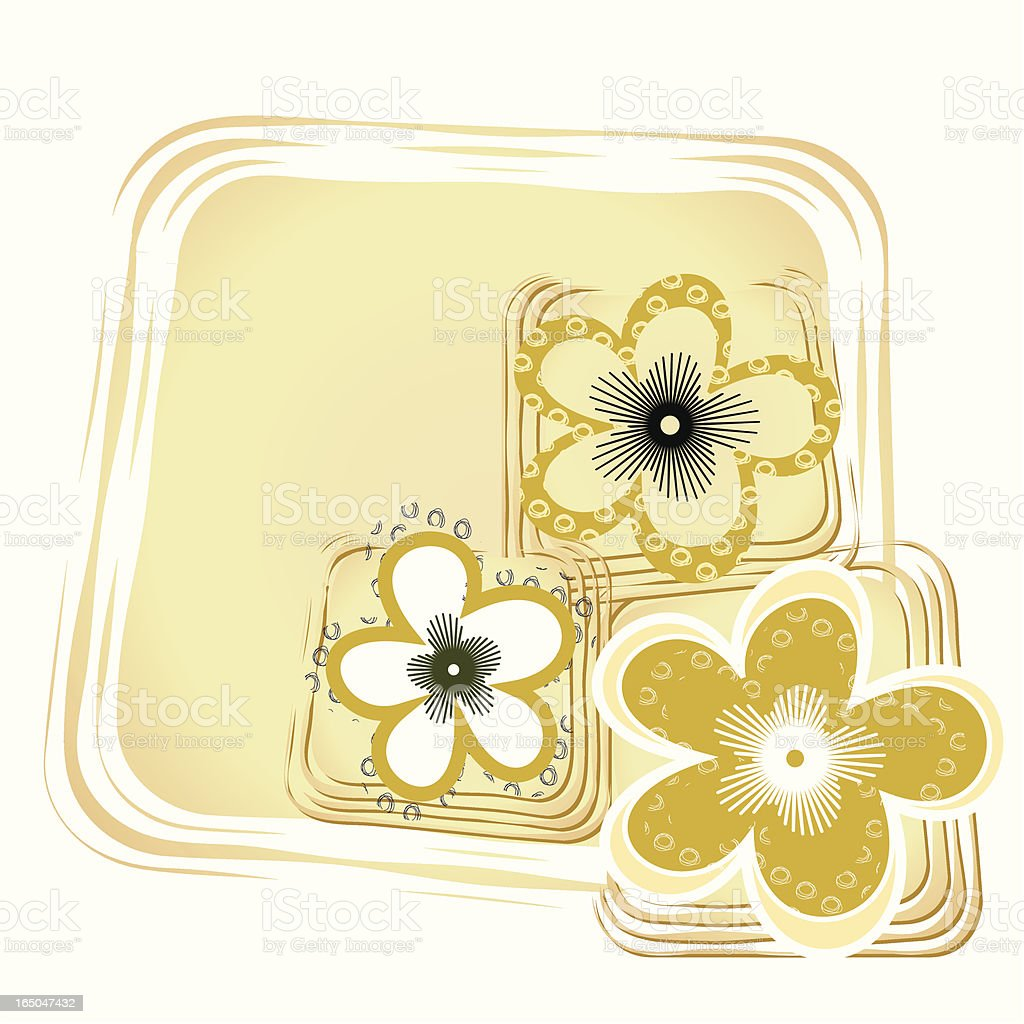 flower design royalty-free stock vector art