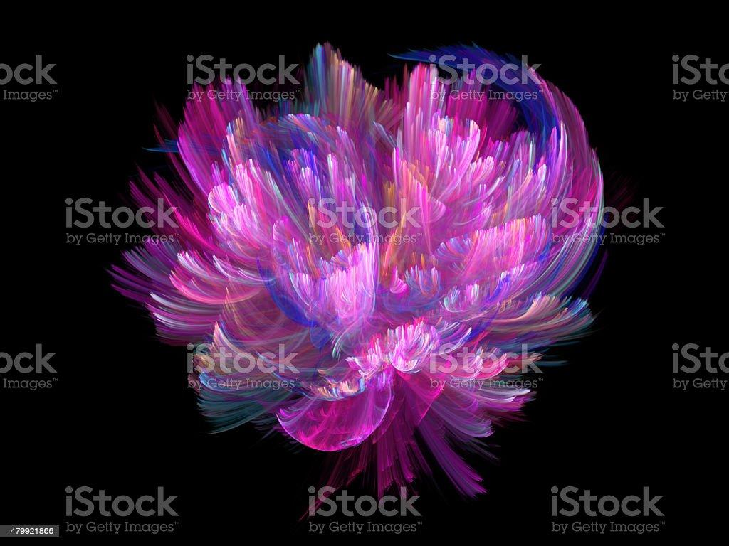 Flower fairy vector art illustration