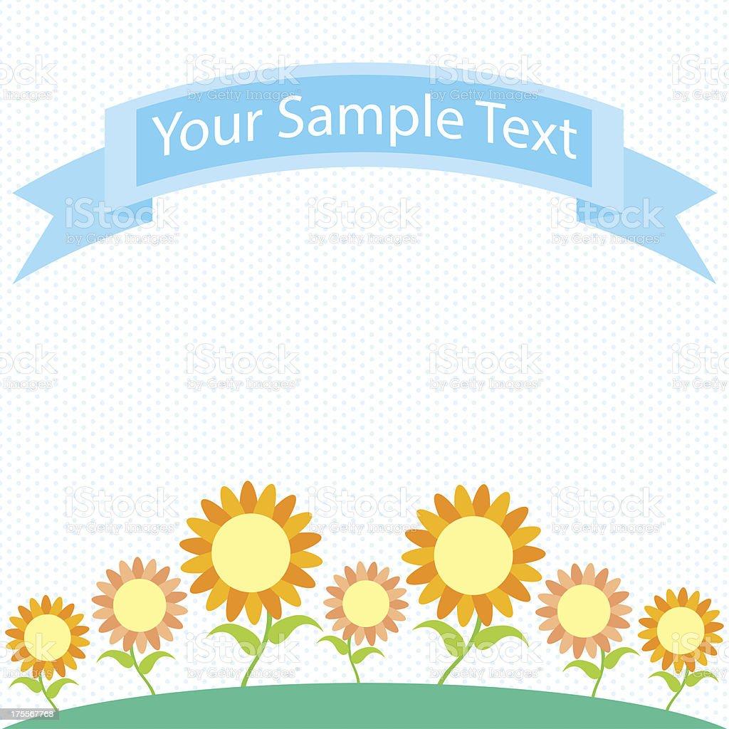 Flower garden cartoon - Flower Garden Cartoon Royalty Free Stock Vector Art