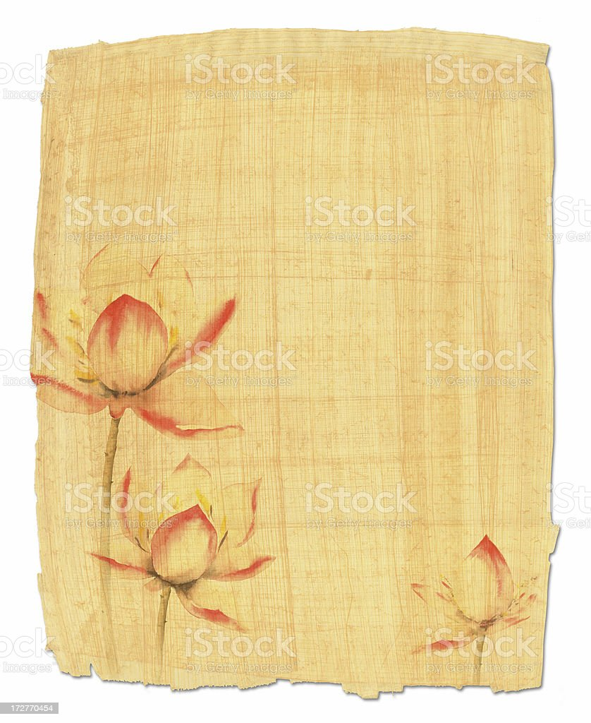 Flower paper royalty-free stock vector art