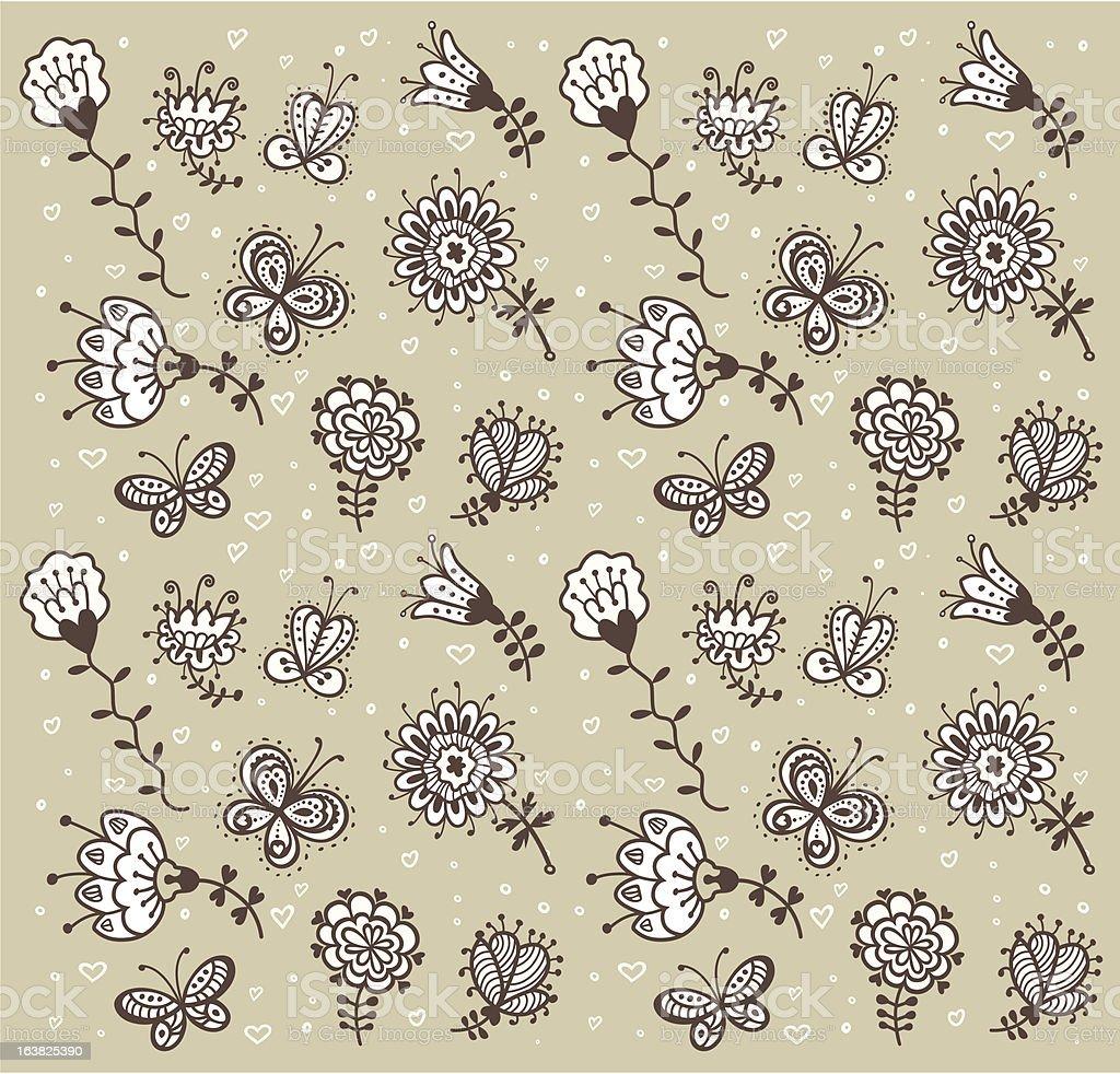 flowers royalty-free stock vector art
