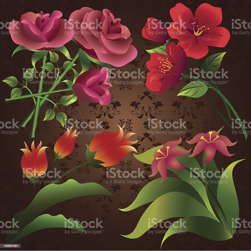 Flowers. royalty-free stock vector art