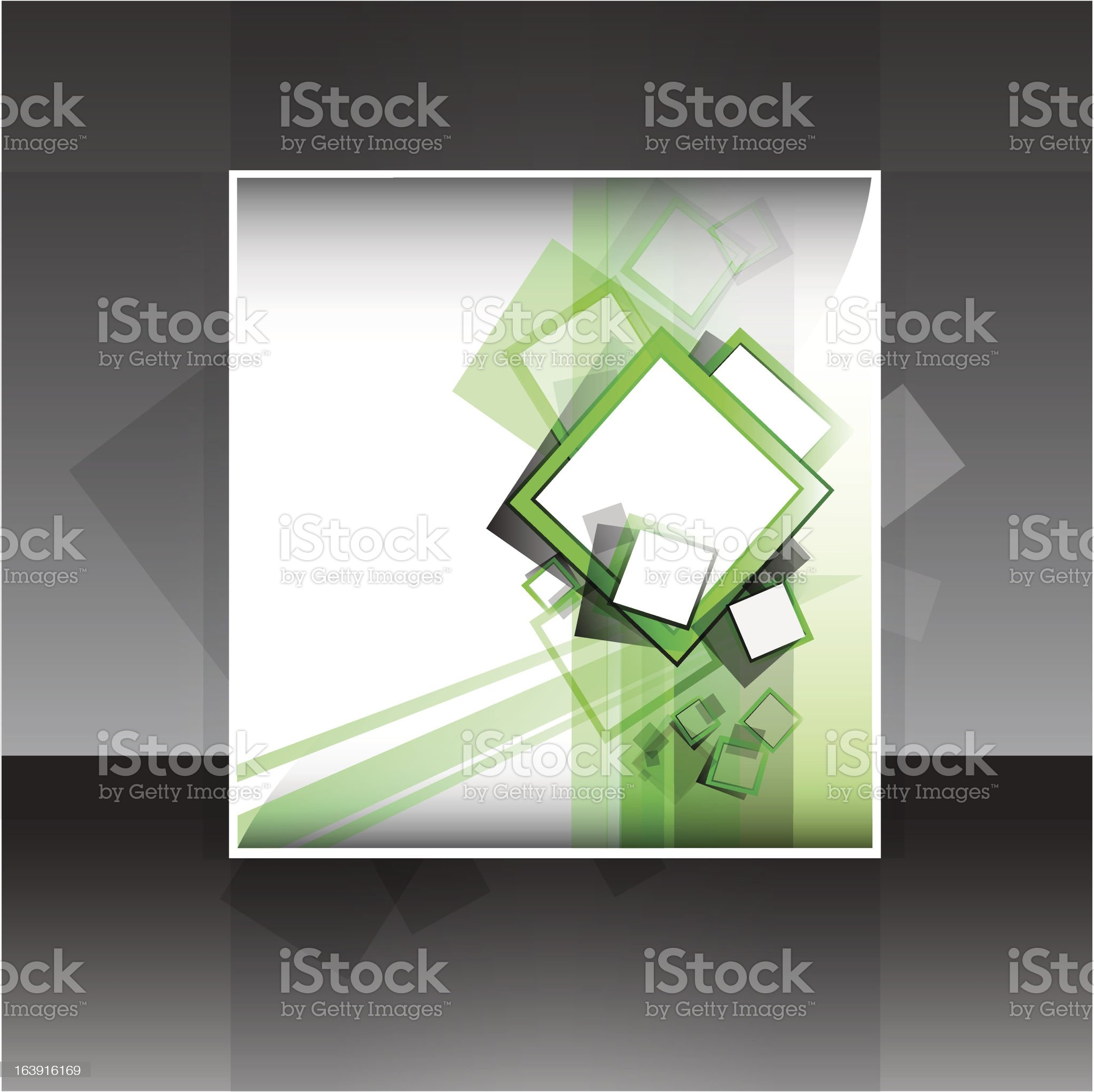 Flyer or cover design royalty-free stock vector art