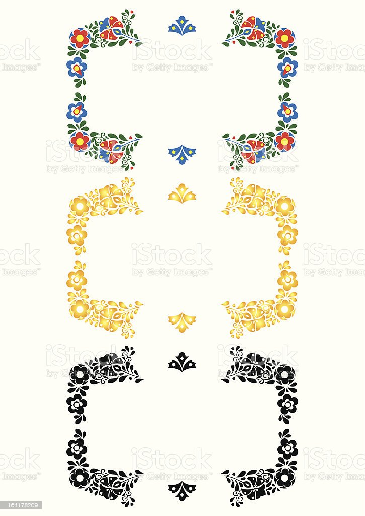 folklore ornament royalty-free stock vector art