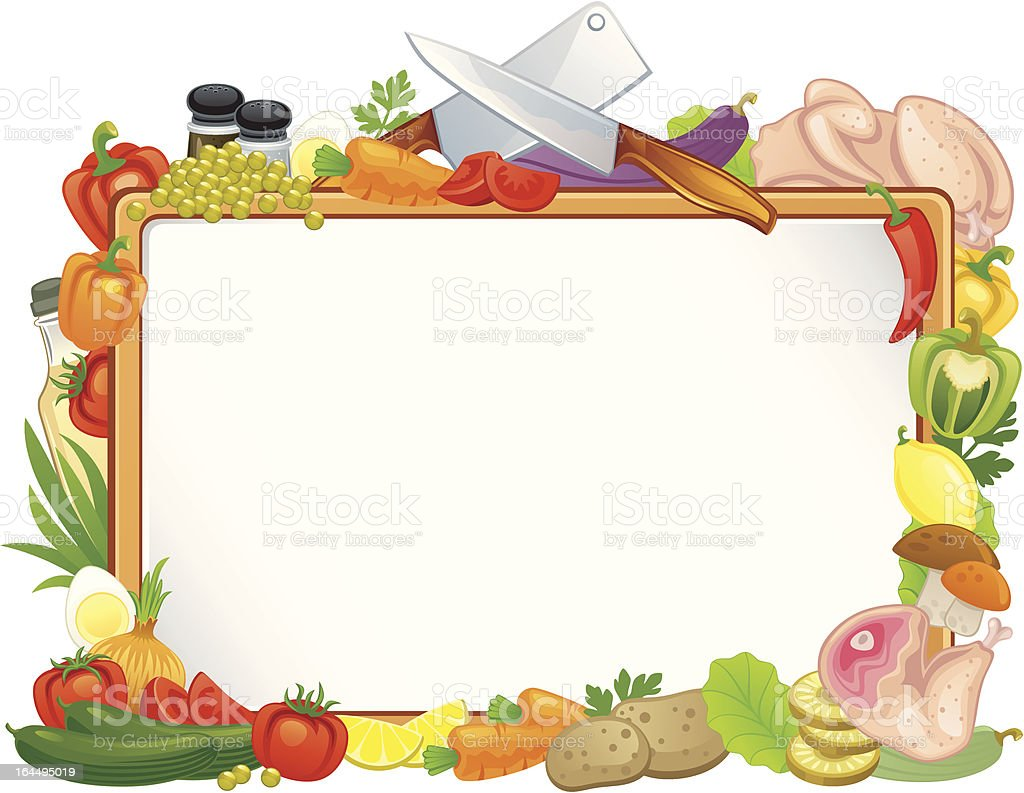Food Frame stock vector art 164495019 | iStock