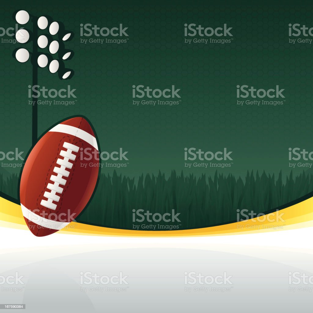 Football Background royalty-free stock vector art