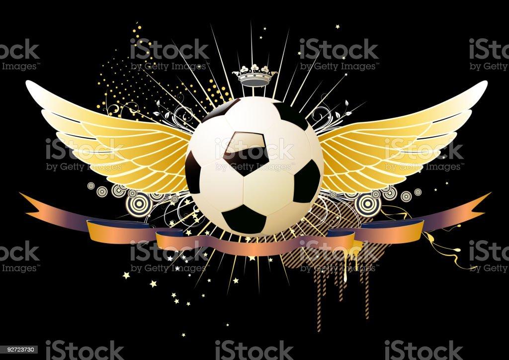 football emblem royalty-free stock vector art