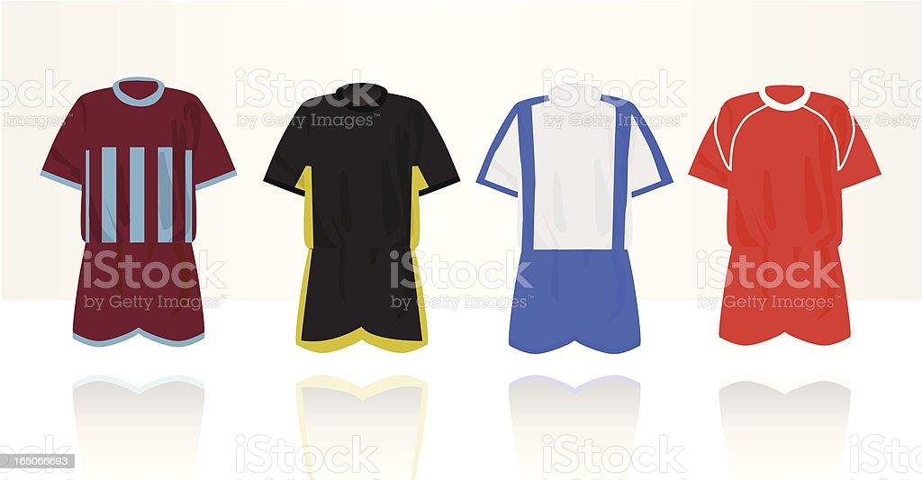 Football Sportswear vector art illustration