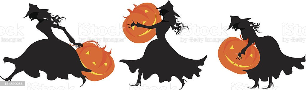 For halloween pumpin\\'s party royalty-free stock vector art