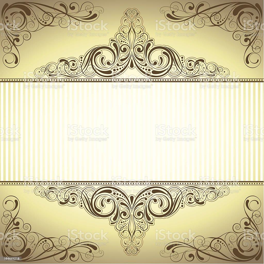 Frame background royalty-free stock vector art