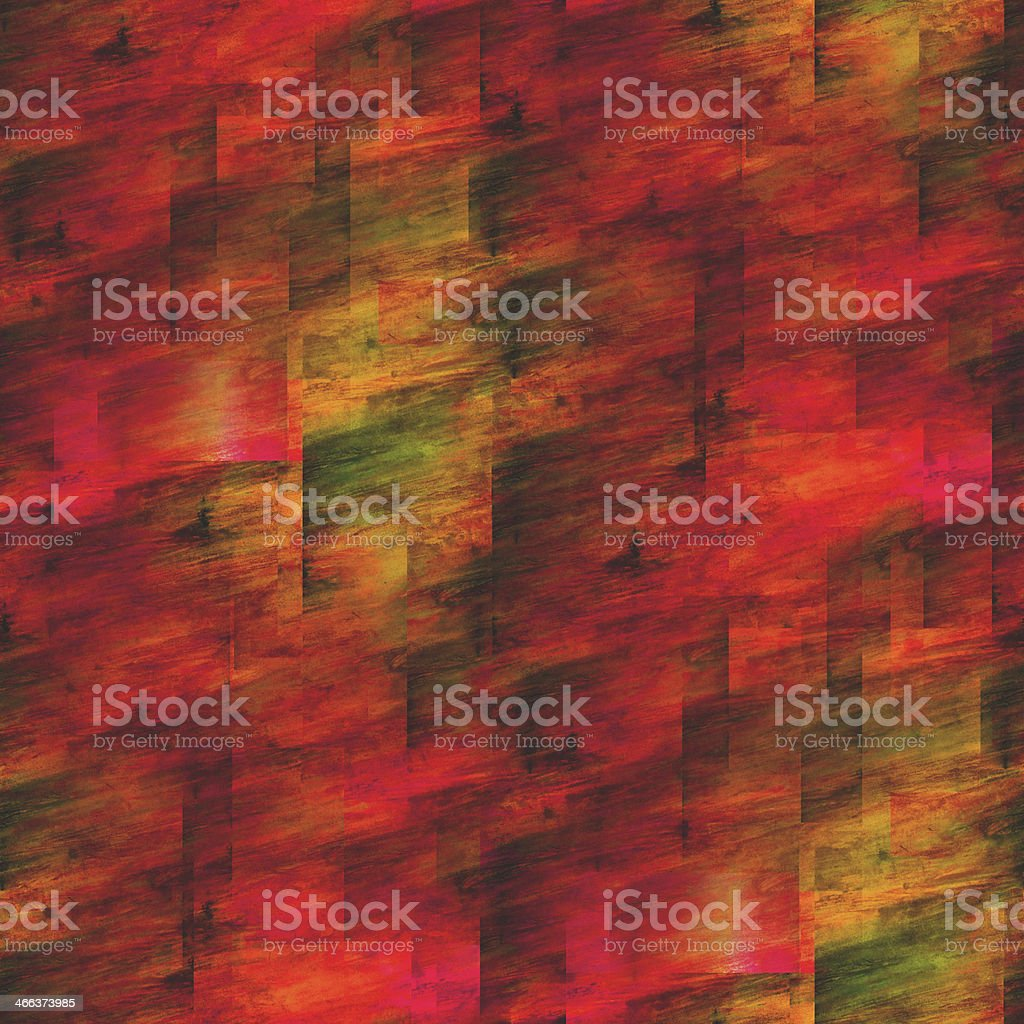 frame graphic style palette seamless picture orange texture wate royalty-free stock vector art
